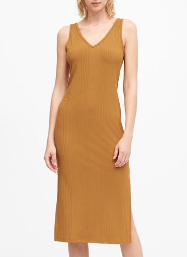 Banana Republic Elbise Sarı
